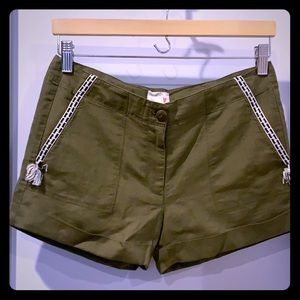 Crewcuts size 14 girls embroidered shorts new/tags